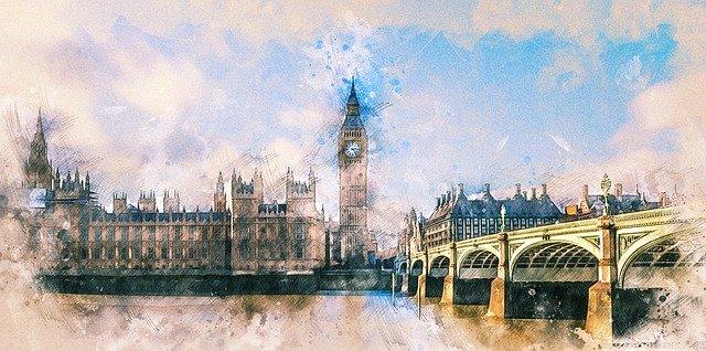 イギリスのロンドン・ウェストミンスター